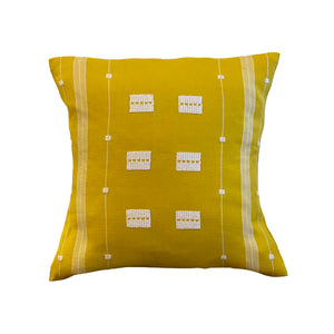 Happiness Embroidered Cotton Pillow - 2 sizes