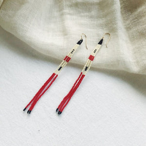 Calligraphy Earrings