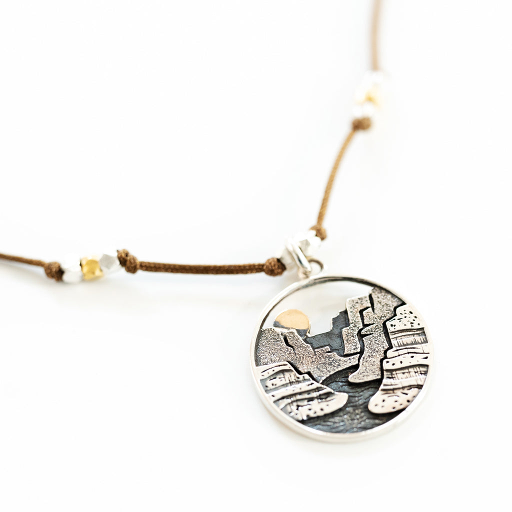 Landscape Necklace - Canyon