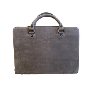 Mr Fox Briefcase - Grey