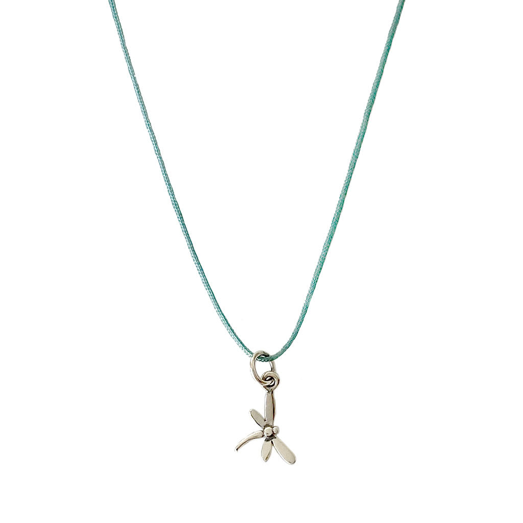 Petite b Kids Tiny Charm Necklace - Dragonfly