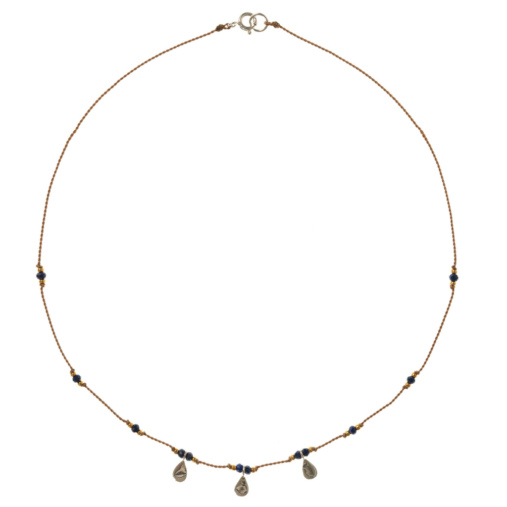 Petite b Kids Isis Necklace - Lapis