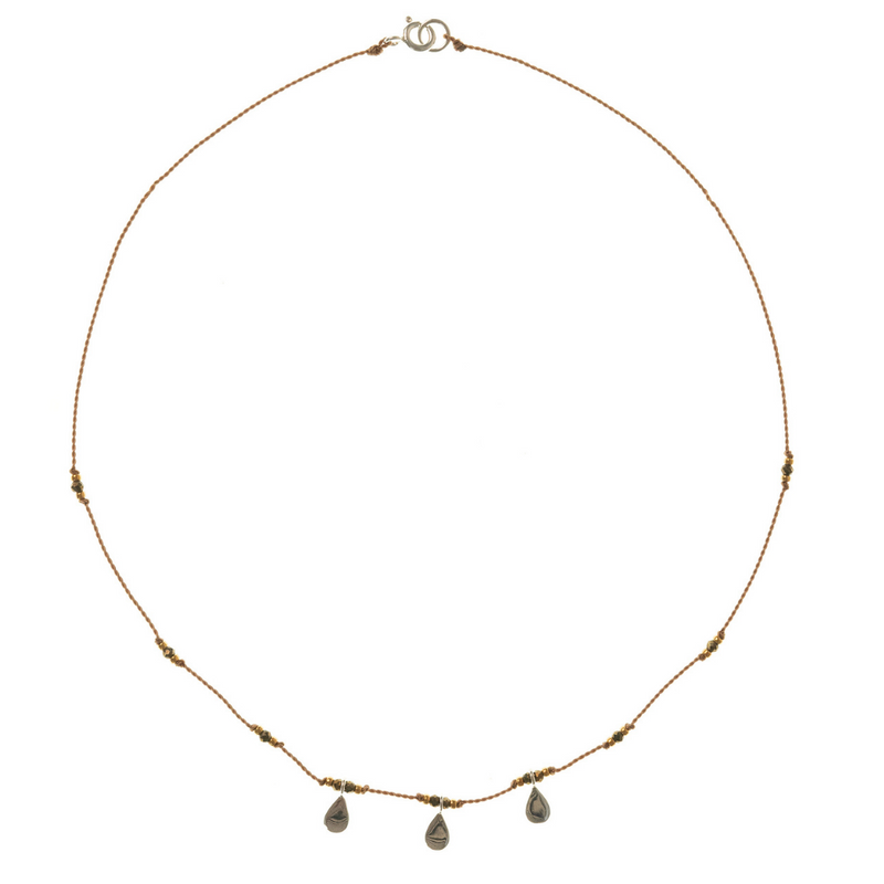 Petite b Kids Isis Necklace - Pyrite