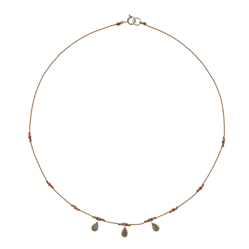 Petite b Kids Isis Necklace - Ruby