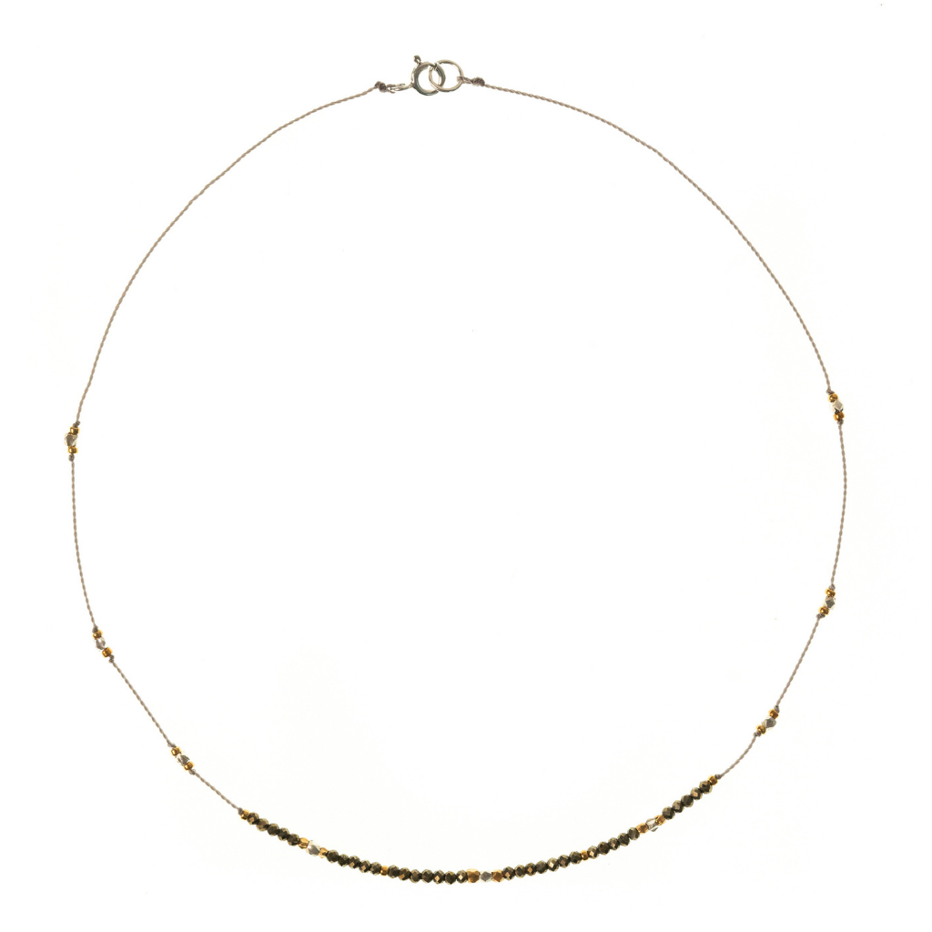 Petite b Kids Journey Necklace - Pyrite