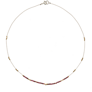 Petite b Kids Journey Necklace - Ruby