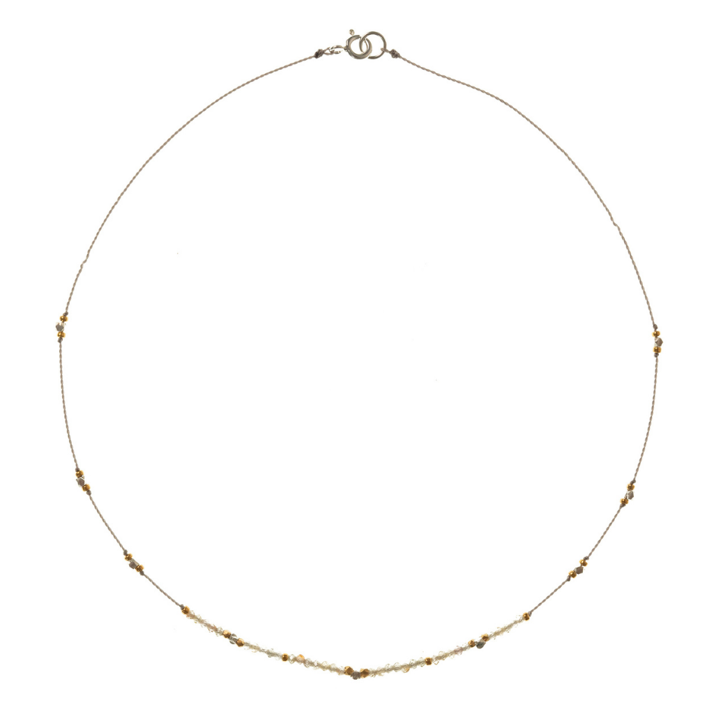 Petite b Kids Journey Necklace - Zircon