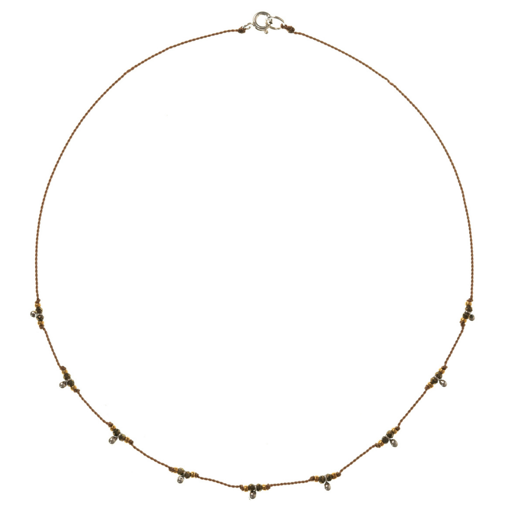 Petite b Kids Trail Necklace - Pyrite