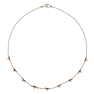 Petite b Kids Trail Necklace - Ruby