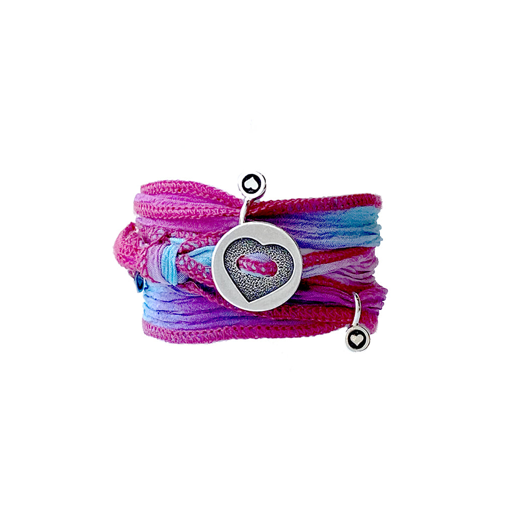 Petite b Kids Ribbon Wrap Bracelet - Popsicle
