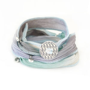 Ribbon Wrap - Sky