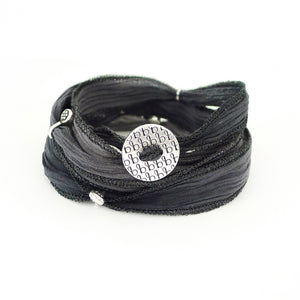 Ribbon Wrap - Smoky Black