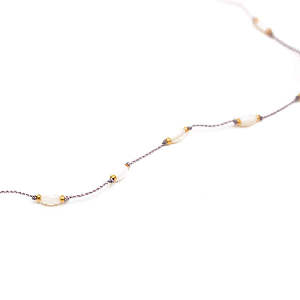 Our Tidepool necklace is durable, stylish and functional, a Bronwen Jewelry favorite for everyday active-chic