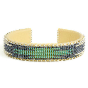 Etkie Tierra Glass Cuff Small