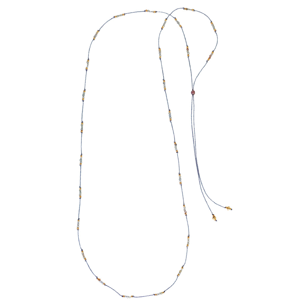 Our Treadlight necklaces are durable, simple and elegant, this is a Bronwen Jewelry pick for everyday active-chic
