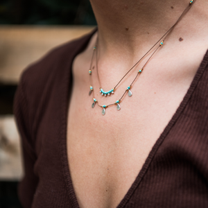 Cairn Necklace - Turquoise