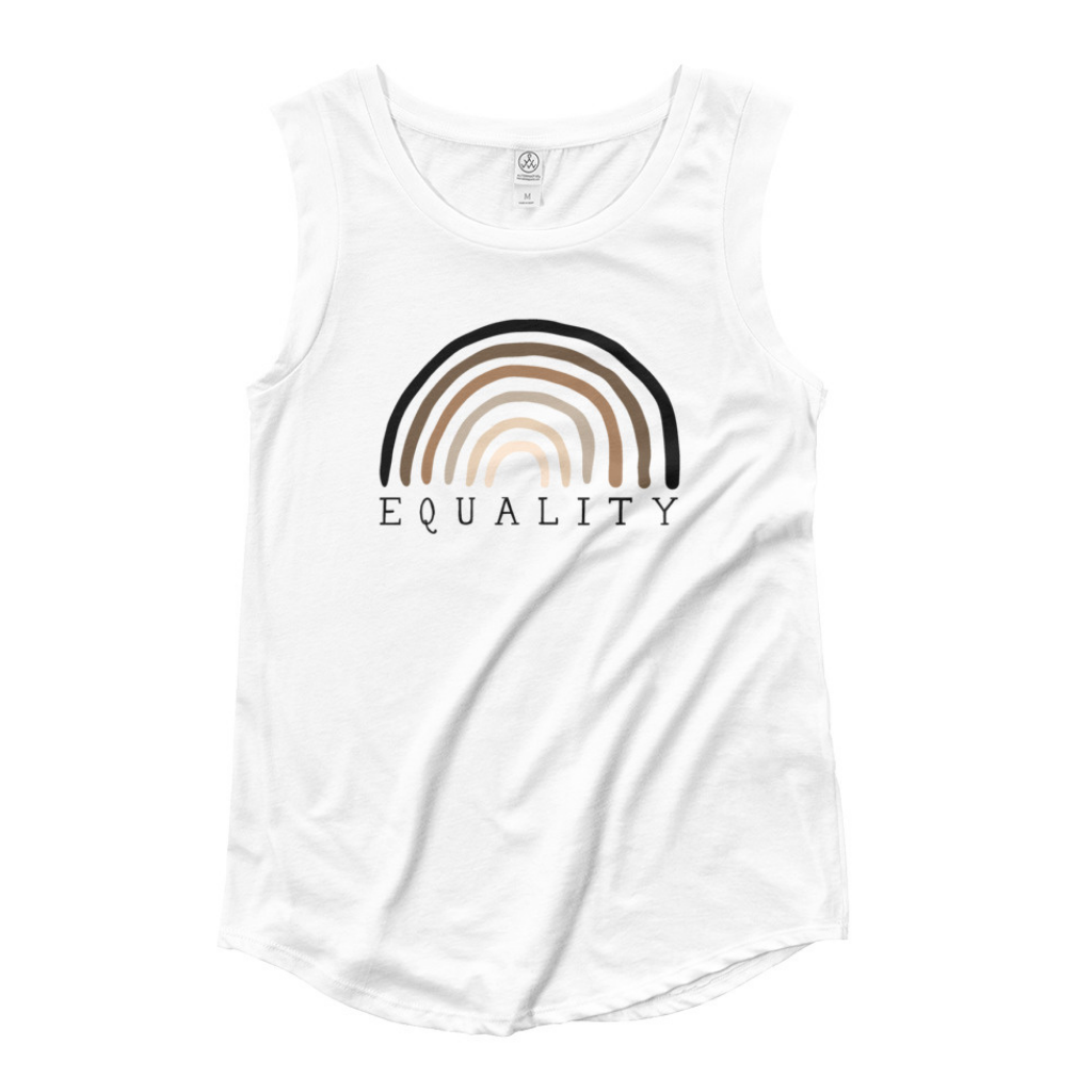 Equality Cap Sleeve Tank