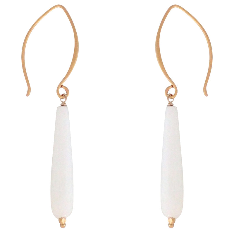 Amazon earrings are bold and beautiful just like you. Artisan made in the USA, a Bronwen Jewelry favorite