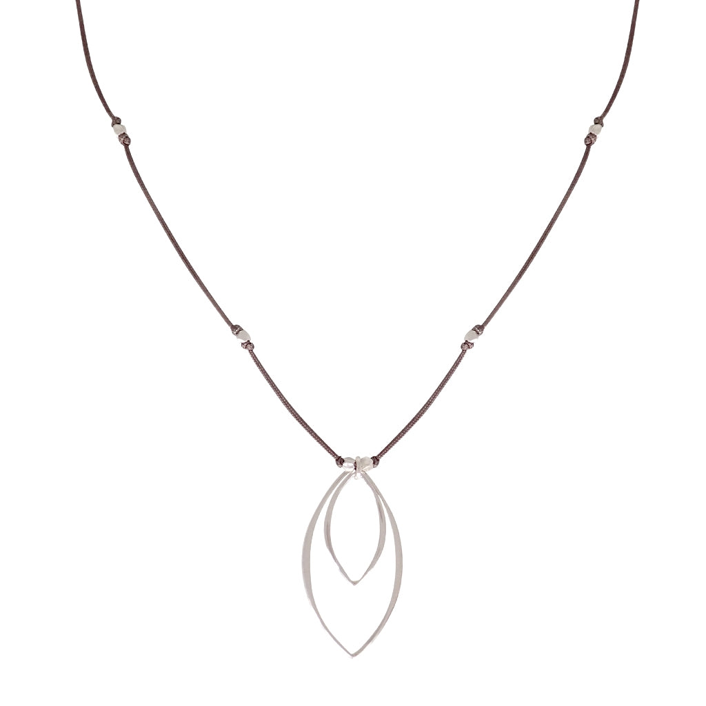 Our Balance necklace is water worthy, durable and a Bronwen Jewelry favorite. Beautiful jewelry for an active lifestyle.