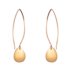 Catania earrings are delicate and durable. Long or short, silver or gold, these are a Bronwen Jewelry bestseller