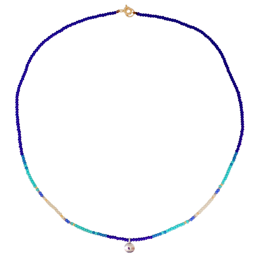 Condesa necklaces are ready for action, colorful and durable, these are a Bronwen Jewelry staple for your active life.