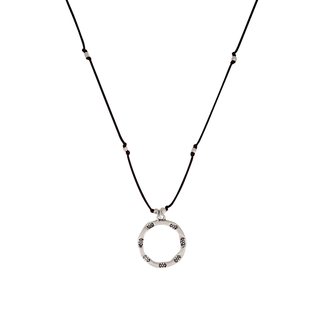 Our Emergence necklace is adjustable, water worthy and strong. Wear this Bronwen Jewelry for all your outdoor activities.