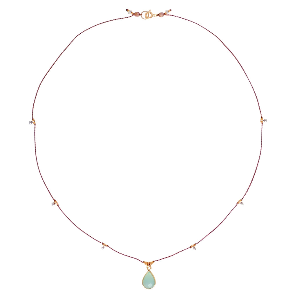 Our Gemstone necklace is adjustable, delicate yet durable, a Bronwen Jewelry favorite. Perfect for your active lifestyle.