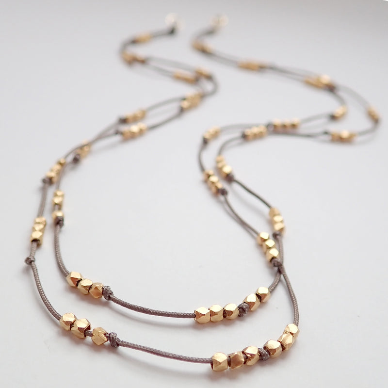 Goldweave Necklace