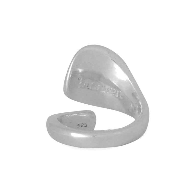 Our Let Freedom Ring ring is sleek, strong and adjustable. A Bronwen Jewlelry bestseller is great for travel or gifting