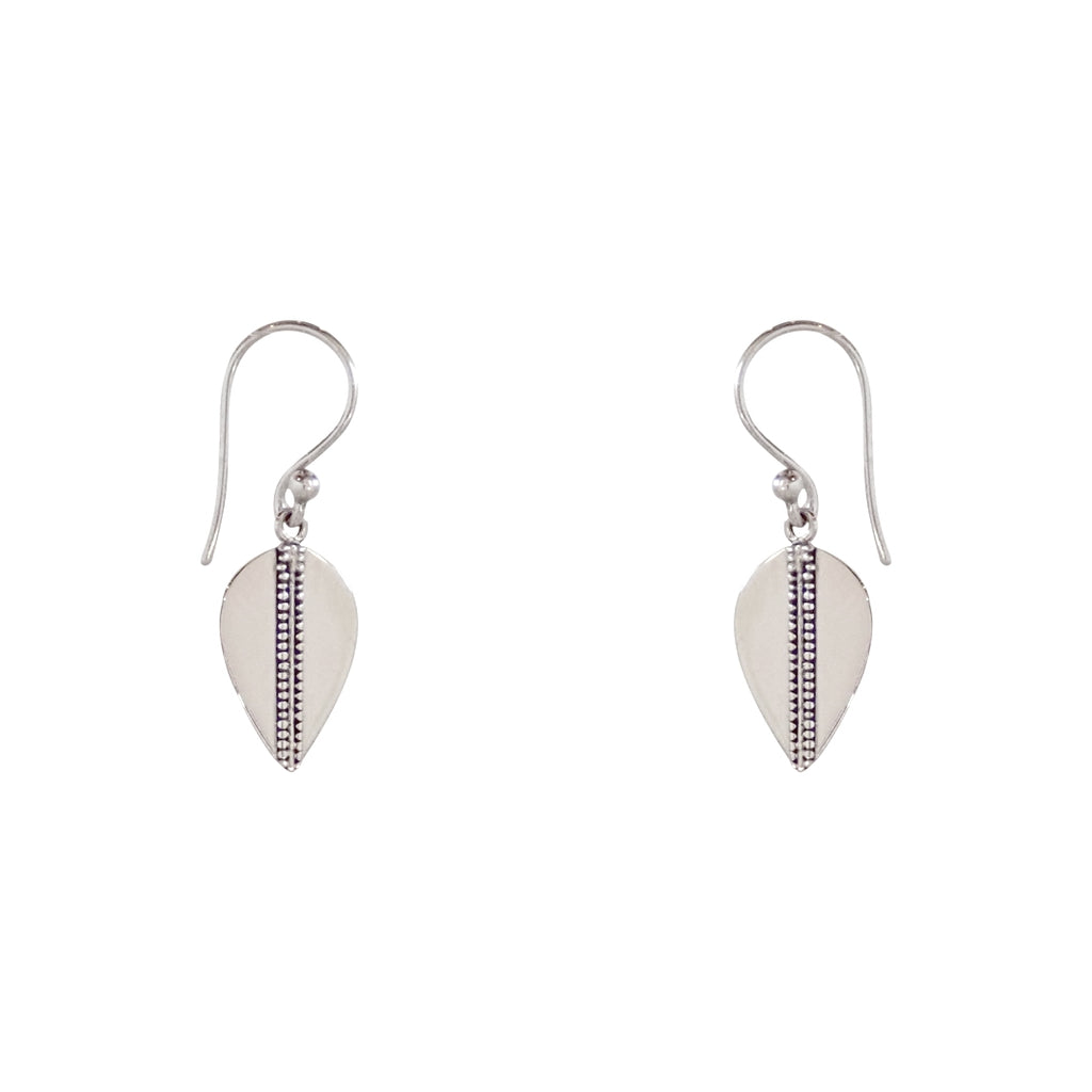 Lotus Pod earrings are a Bronwen Jewelry favorite. Cast in sterling silver, short or long, these are everyday active-chic