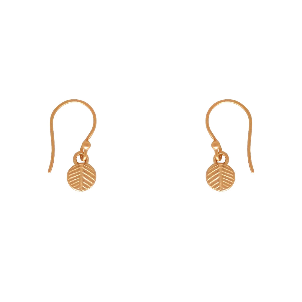 Palm Leaf earrings are a Bronwen Jewelry favorite. Long or short, silver or gold, they are everyday active-chic