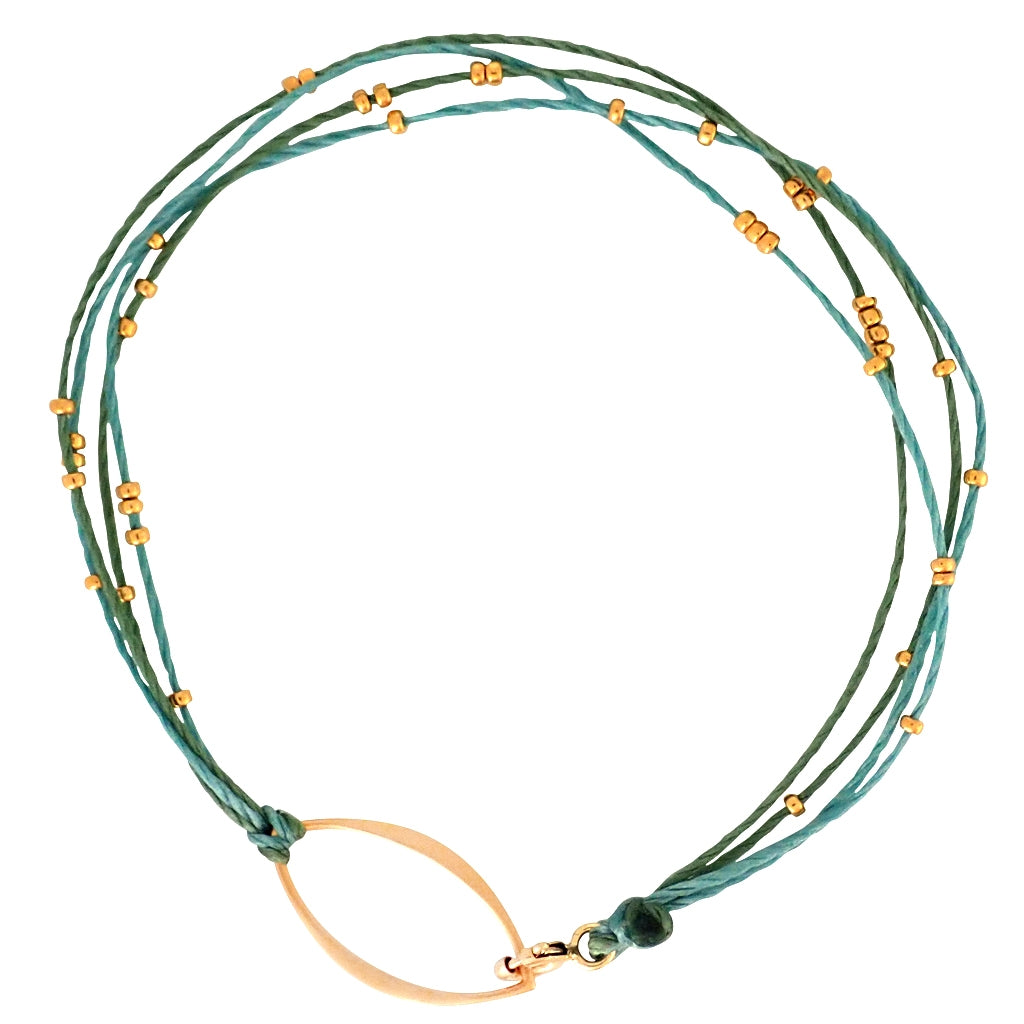 Radiance bracelets are dainty, durable and water worthy, a Bronwen Jewelry favorite, active jewelry for an active lifestyle.