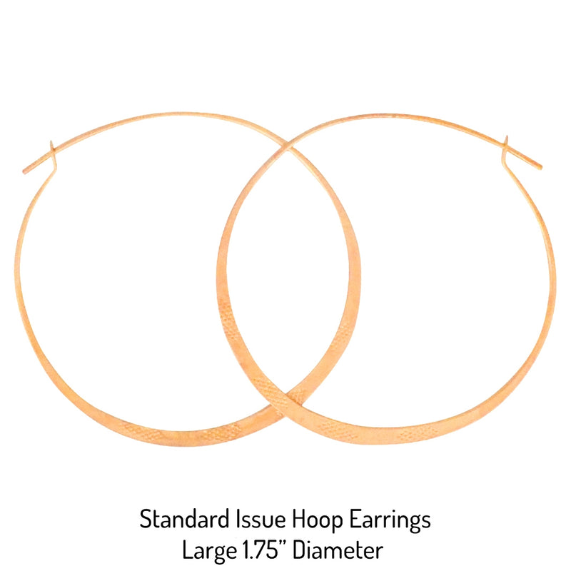 Standard Issue Hoop Earrings - Gold