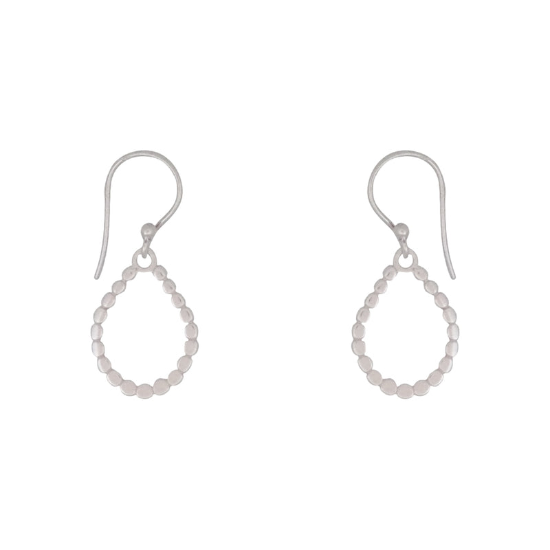 Sun Disc Hoop earrings are a Bronwen Jewelry favorite. Long or short, silver or gold, they are perfect for any activity