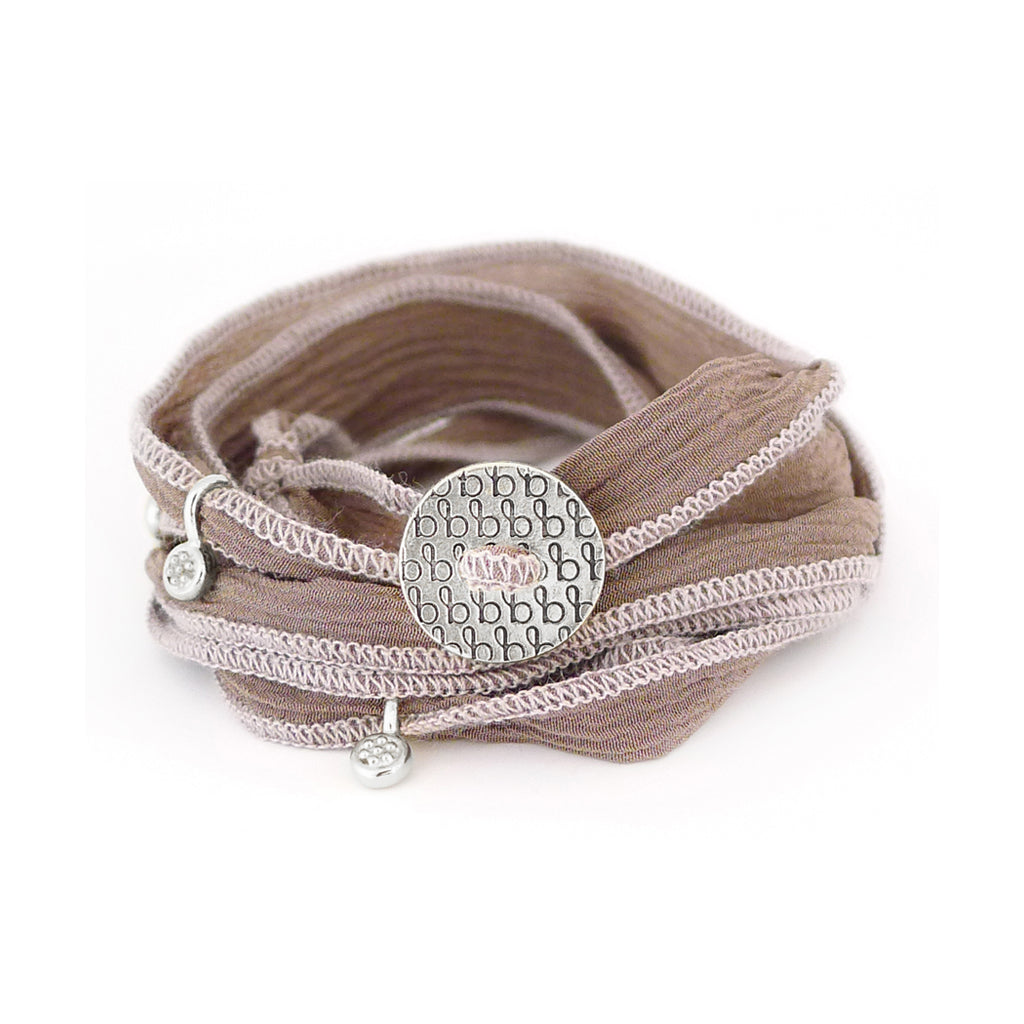 Ribbon Wrap - Taupe