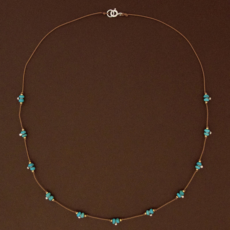 Trail Necklace - Turquoise