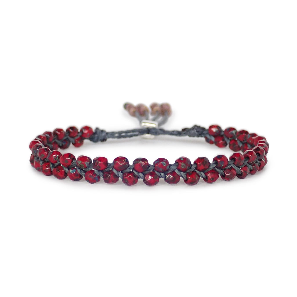Waterweave beaded bracelets are dainty and durable, a Bronwen Jewelry favorite. Beautiful jewelry for an active lifestyle.