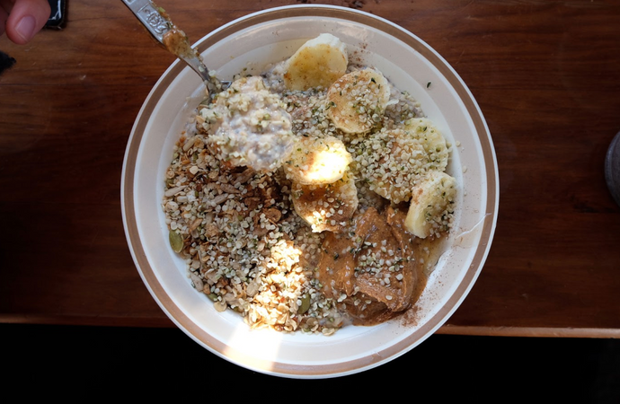 Creamy Hemp Porridge Recipe