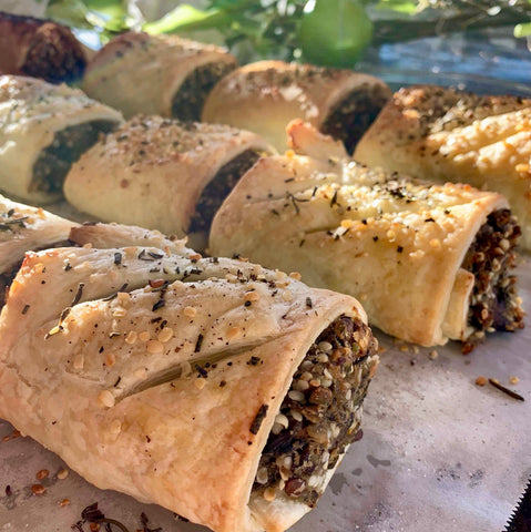 The Brothers Green Hemp Recipes - Plant Based Sausage Rolls