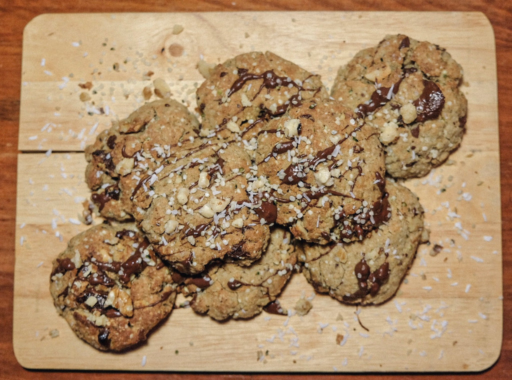 Best Choc Chip Protein Cookies - The Brothers Green