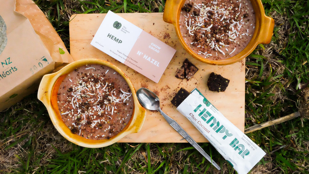 Hemp Chocolate Mousse Recipe - The Brothers Green