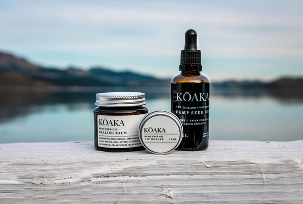 Sustainable Hemp NZ Skincare - Koaka