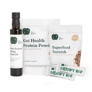 Organic Hemp Protein Wellness Box - The Brothers Green