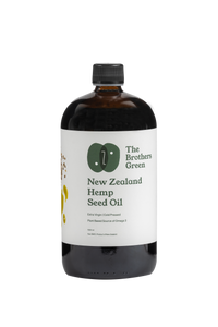 Buy Hemp Oil New Zealand - The Brothers Green