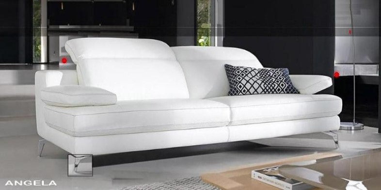 Angela Leather Sofa - caliamaddalena