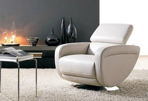Leather Armchair Michela - caliamaddalena