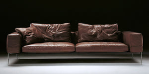 Houston Leather Sofa - caliamaddalena