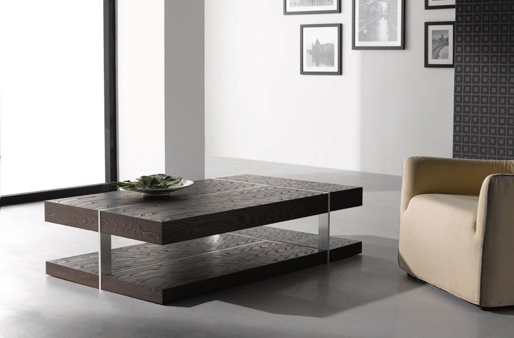 Table in wood and steel. - caliamaddalena