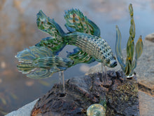 "Load image into Gallery viewer, CAPGlass X Samson Glass ""Father and Son Beta"" Sculpture"