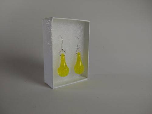 Sunshine Yellow Drop Earrings